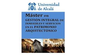 Ya ha comenzado el plazo de inscripción para el Máster Universitario en Gestión Integral de Inmuebles y Servicios en el Patrimonio Arquitectónico (Facility Management in Architectural Heritage) (M994), que se imparte en la Escuela de Arquitectura, en el Campus de Guadalajara. Dispones de toda la información sobre el Máster pinchando en mas información